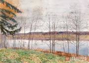 Levitan Isaaс. Autumn. 1890s