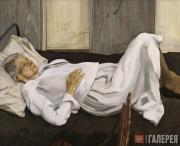 Фрейд Люсьен. Мать художника отдыхает. 1982–1984