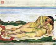 Ходлер Фердинанд. Любовь. 1907–1908