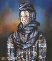 Alexander TYSHLER. Portrait of Anastasia Tyshler. 1926