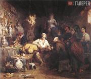 Thomas UWINS. The Neapolitan Saint Manufactory. 1832