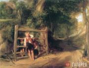 WILLIAM COLLINS. Rustic Civility. 1832