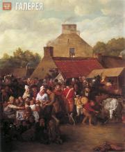 Sir David Wilkie. Pitlessie Fair. 1804