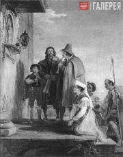 Sir David Wilkie. I Pifferari. 1829
