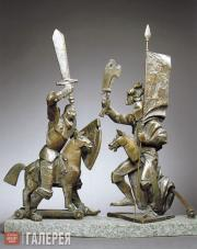 Tsigal Alexander. Wooden Hobby Horses. 1990