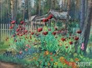 Kuzginov Konstantin. Poppies. 1954