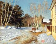 Levitan Isaaс. March. 1895