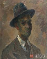 "Falk Robert. ""Mulatto"" (Self-portrait). 1935"