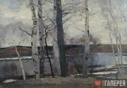 Gerasimov Sergei. The Ice Drifted Away. 1945