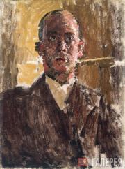 Sickert Walter. Harold Gilman. c. 1912