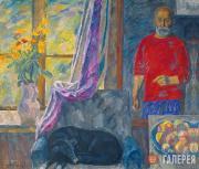 Эдуард БРАГОВСКИЙ.  Осенние цветы. 1993