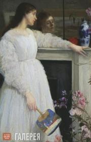 Whistler James McNeill. Symphony in White, No. 2: The Little White Girl. 1864