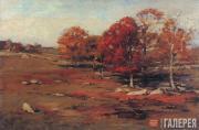 Henry C. WHITE. Fall Landscape. 1891
