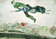 Chagall Marc. Above the City. 1914–1918