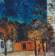 Larionov Mikhail. Night. Tiraspol. 1907