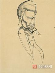 Lewis Wyndham. Ezra Pound. 1920