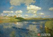 Levitan Isaaс. Lake. 1899-1900