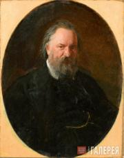 Ghe Nikolai. Portait of Alexander Herzen. 1867