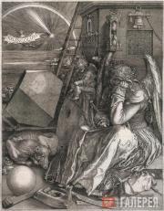 Albrecht DURER. Melancholy. 1514