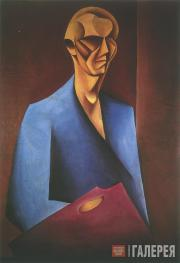 Щука Мечислав. Автопортрет с палитрой. 1920
