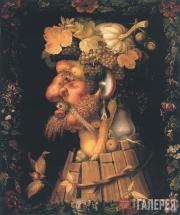 Arcimboldo Giuseppe. The Autumn. 1573