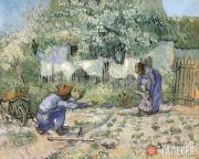 Винсент Ван Гог. Первые шаги (по Милле). 1890