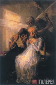 Франcиско ГОЙЯ. Время, или Старуха. Ок. 1808–1812