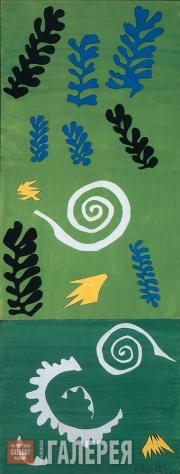 Matisse Henri. Composition in Green. 1947