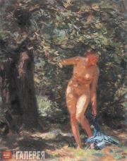 Shmarinov Dementy. Summer (Nude). 1939