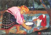Гончарова Наталия. Бабы. 1910