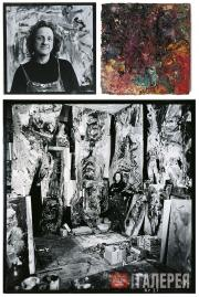 """Wieckhorst Karin. From the series """"Encounters in Studios"""". 1986-1987"""