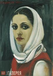 Salakhov Tahir. Portrait of Varya. 1985