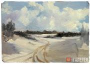 Якунчикова Мария. Зимняя дорога. 1885–1889