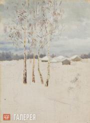 Якунчикова Мария. Деревья зимой. 1890-е