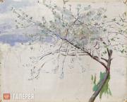 Якунчикова Мария. Яблони в цвету. 1885–1889