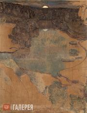 Якунчикова Мария. Восход луны над озером. Конец 1890-х