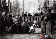 Laying of the foundation stone ceremony for the Church of St. Alexius in Tsarsko