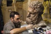 Conservation of the Farnese Hercules plaster cast