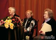 The 2008 Tretyakov award winners: Ida Gofman, Lidya Romashkova and Galina Yushke