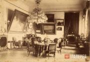 State drawing-room in Aivazovsky's house. 1900s