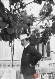 Л.С. Бакст. Ментона. Фото. 1903