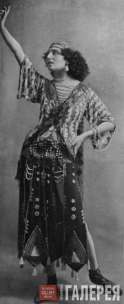 И.Л. Рубинштейн в роли Саломеи Париж. Фото. 1912