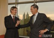 Томас П. Кэмпбелл и Филипп де Монтебелло, 9 сентября, 2008 года