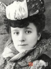 Francine Clary. Photo. c. 1900