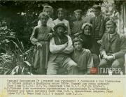 Н.Н. Ге-младший с семьей. Швейцария