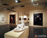 Экспозиция выставки в галерее Скудерие дель Куиринале