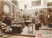 Exhibition display of the Stroganov School at the International Exhibition in To