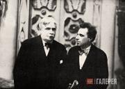 Александр Головин и Всеволод Мейерхольд. 1923