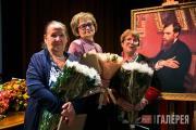 Лауреаты премии имени П.М. Третьякова Л.С. Медведева, Т.П. Губанова, В.М. Бялик