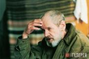 Nikolai Andronov in the Vasily Surikov Academic Art Institute in Moscow. 1998